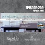 EP209: Wainscoting . . . the Gateway Project